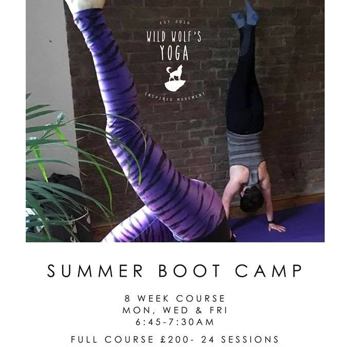 Summer Stretch & Strength Bootcamp #strongbeatsskinny