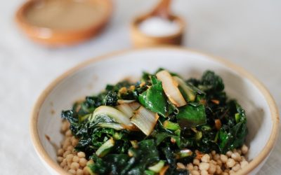 Stories From A Wild Kitchen: The Tasty Leafy Greens